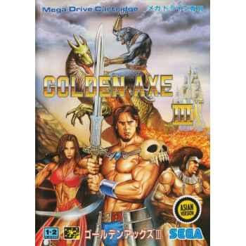 Golden Axe III - MegaDrive [Versione Giapponese]