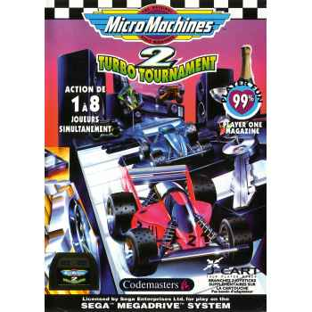Micro Machines 2: Turbo Tournament - MegaDrive [Versione Italiana]