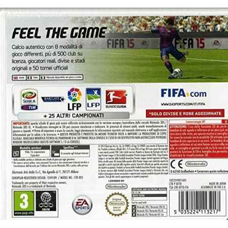 Fifa 15 - Nintendo 3DS [Versione Italiana]