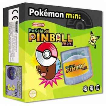 Pokemon Mini: Pokemon Pinball Mini