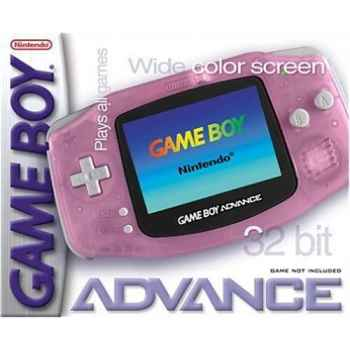 Nintendo GameBoy Advance Rosa Trasparente  - Console [Versione Italiana]