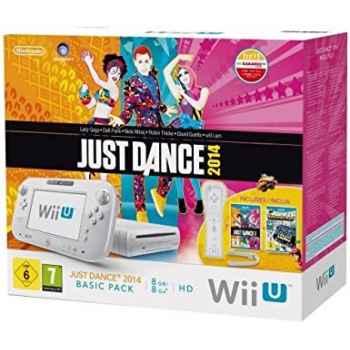 Nintendo Wii U Bianca 8GB Just Dance 2014 Basic Pack (2 Giochi Inclusi) - Console [Versione Italiana]