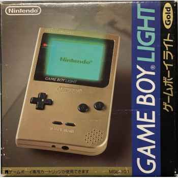 Nintendo GameBoy Light Gold - Console [Versione Giapponese]