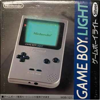 Nintendo GameBoy Light Silver - Console [Versione Giapponese]
