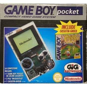 Nintendo GameBoy Pocket Trasparente + Tennis (Gioco Incluso) - Console [Versione Italiana]