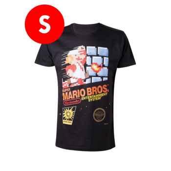 T-Shirt Super Mario Bros - Entertainment System - Taglia S