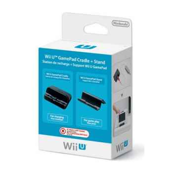 Nintendo Wii U - GamePad Cradle + Stand (Stazione di ricarica + Supporto per GamePad)