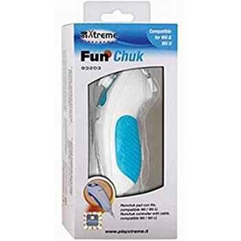 Xtreme 93203 FunChuk con Cavo per Nintendo Wii / Wii-U Console