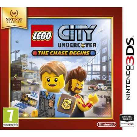 LEGO City Undercover: The Chase Begins (SELECT) - Nintendo 3DS [Versione EU Multilingue]