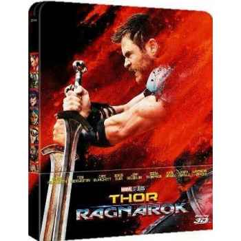 Thor Ragnarok - Steelboock Blu-Ray 3D (2018)