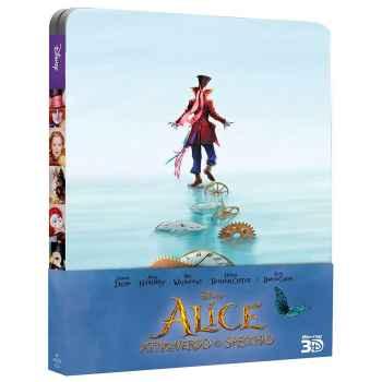Alice Attraverso Lo Specchio - Steelboock Blu-Ray 3D (2016)