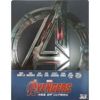 Avengers: Age Of Ultron - Steelboock Blu-ray 3D (2015)