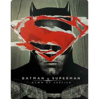 Batman v Superman - Down Of Justice - Steelboock Blu-Ray (2016)