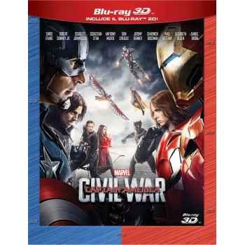 Captain America - Civil War - Blu-Ray 3D (2016)