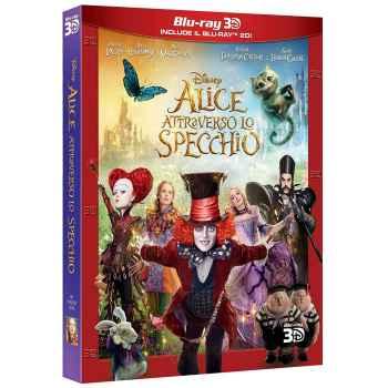 Alice Attraverso Lo Specchio - Blu-Ray 3D (2016)