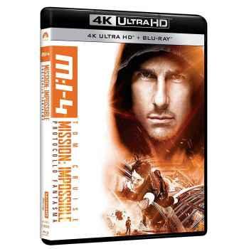 Mission: Impossible - Protocollo Fantasma - Blu-Ray 4K (2011)