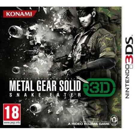 Metal Gear Solid: Snake Eater 3D  - Nintendo 3DS [Versione Italiana]