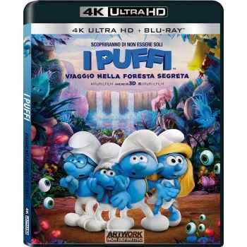 I Puffi - Viaggio Nella Foresta - Blu-Ray 4K (2017)