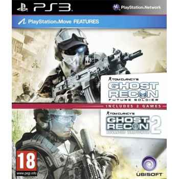 Tom Clancy: Ghost Recon Future Soldier + Tom Clancy: Ghost Recon Advanced Warfighter 2  - PS3 [Versione Inglese]