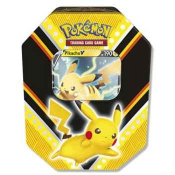 Pokemon Tin da Collezione V Powers Pikachu-V (IT)