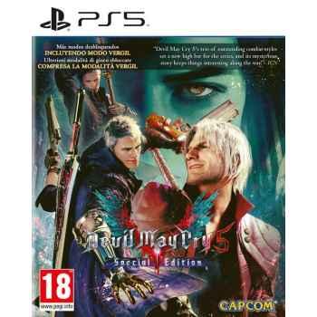 Devil May Cry 5 (Special Edition) - PS5 [Versione EU Multilingue]