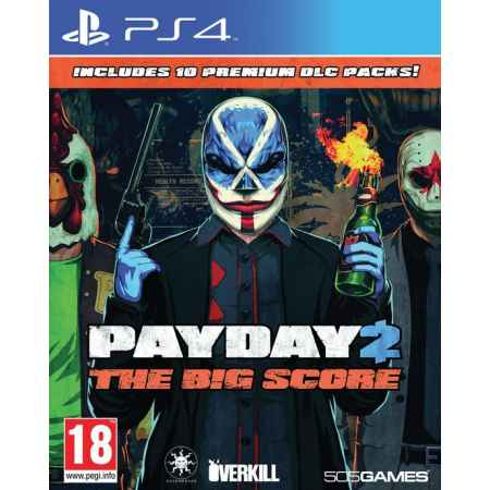 PayDay 2 The Big Score  - PS4 [Versione Italiana]