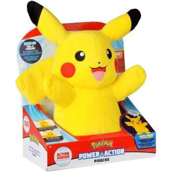 Pokemon Power Action Pikachu Peluche Luci e Suoni (33 cm)