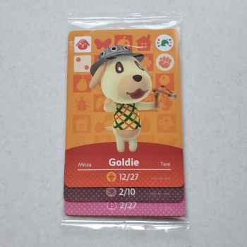 Goldie + Stitches + Rosie (Promo Pack Animal Crossing Cards) - Nintendo Amiibo