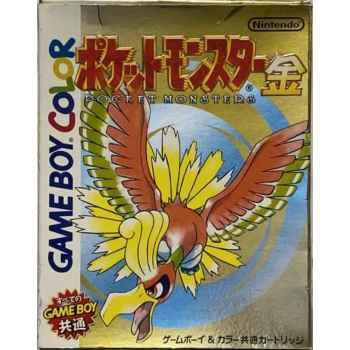 Pokemon Versione Oro- GBC [Versione Giapponese]