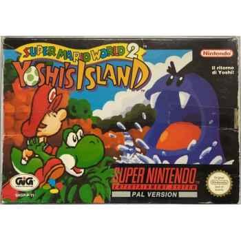Super Mario World 2: Yoshi's Island - SNES [Versione Italiana]