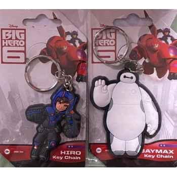 Portachiavi Key Chain Big Hero 6 Baymax + Portachiavi Key Chain Big Hero 6 Hiro