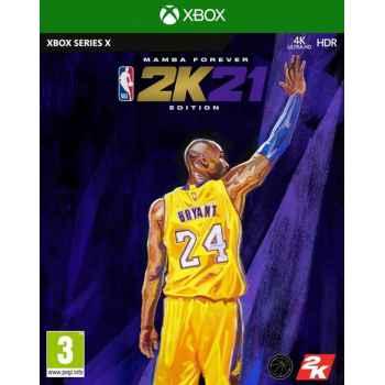 NBA 2K21 (Mamba Forever Edition) - Xbox Serie X [Versione EU Multilingue]