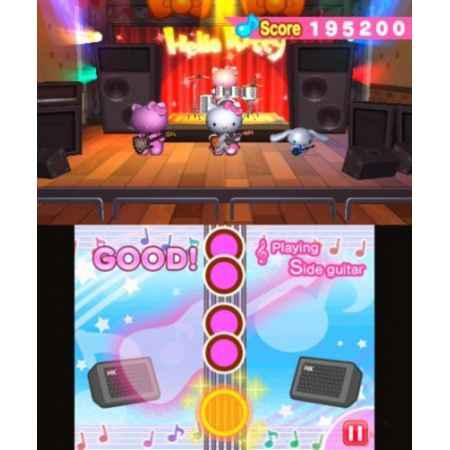 Hello Kitty & Friends: Rock'n World Tour - Nintendo 3DS [Versione Italiana]