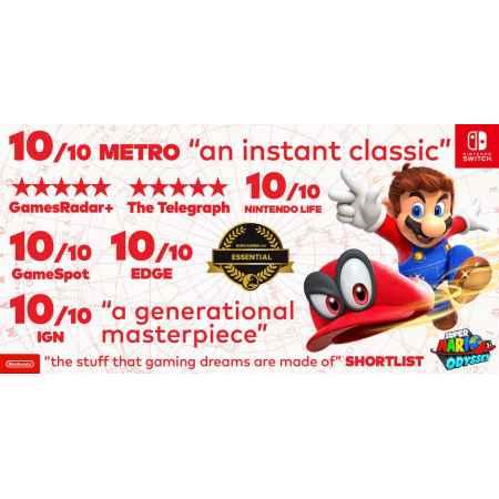 Super Mario Odyssey - Nintendo Switch [Versione EU Multilingue]