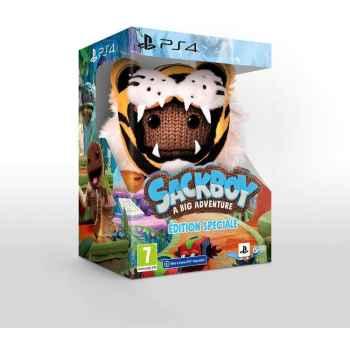 Sackboy A Big Adventure!  (Special Edition) - PS4 [Versione EU Multilingue]