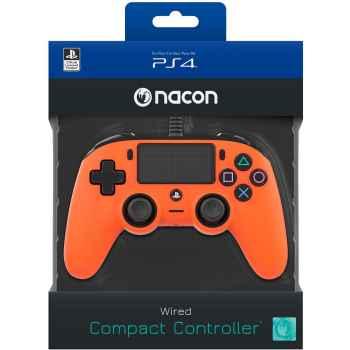 (PS4) BigBen Interactive Nacon Compact Controller - Arancione - PlayStation 4
