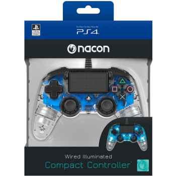 (PS4) BigBen Interactive Nacon Compact Controller Luminosi - Blu - Classics - PlayStation 4