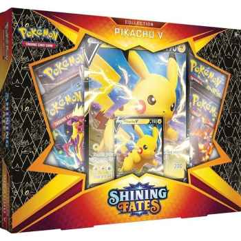 Pokemon Sword and Shield 4.5 Shining Fates Collection Pikachu V (ENG)