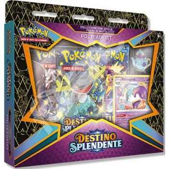 Pokemon Collezione 4.5 Destino Splendente con Spilla Festa di Matti Polteageist (IT) - Prevendita