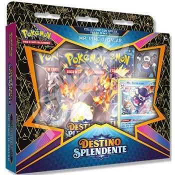 Pokemon Collezione 4.5 Destino Splendente con Spilla Festa di Matti Mr. Rime (IT)