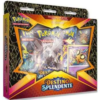 Pokemon Collezione 4.5 Destino Splendente con Spilla Festa di Matti Dedenne (IT)