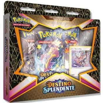 Pokemon Collezione 4.5 Destino Splendente con Spilla Festa di Matti Bunnelby (IT)
