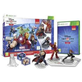 Disney Infinity 2.0: Marvel Super Heroes - Starter Pack  - Xbox 360 [Versione Italiana]