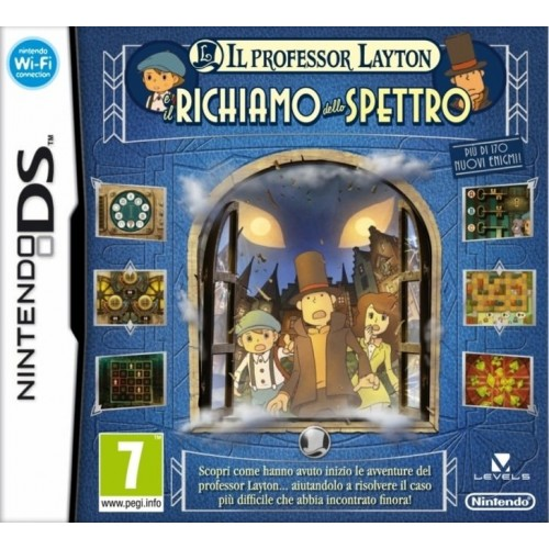 Il Professor Layton E Il Richiamo Dello Spettro - Nintendo DS [Versione Italiana]