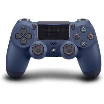 (PS4) Sony PlayStation DualShock 4 Controller - Midnight Blue - PlayStation 4