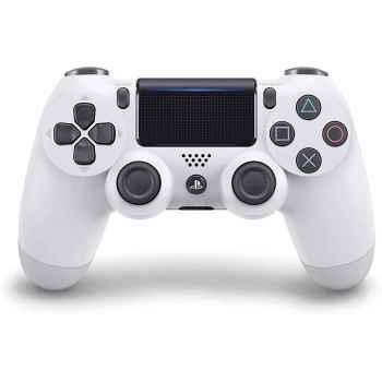 (PS4) PlayStation 4 - Dualshock 4 Controller Wireless V2, Bianco (Glacier White) - PlayStation 4