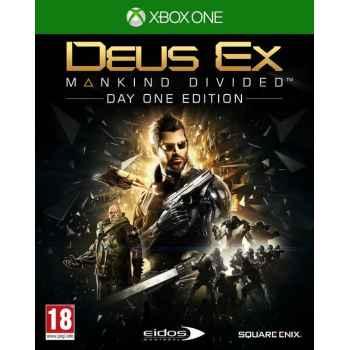 Deus Ex: Mankind Divided - DayOne Edition - Xbox One [Versione EU Multilingue]
