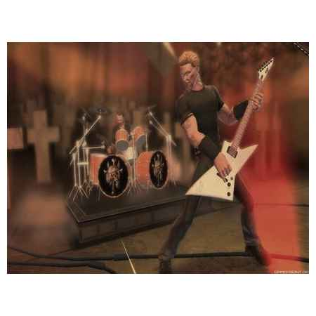 Guitar Hero Metallica – PS2 [Versione Italiana]