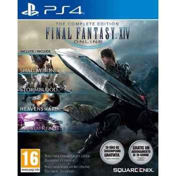 Final Fantasy XIV - The Complete Edition  - PS4 [Versione Italiana]