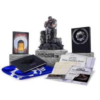 Gears of War 3 Epic Collector's Edition- Xbox 360 [Versione Italiana]